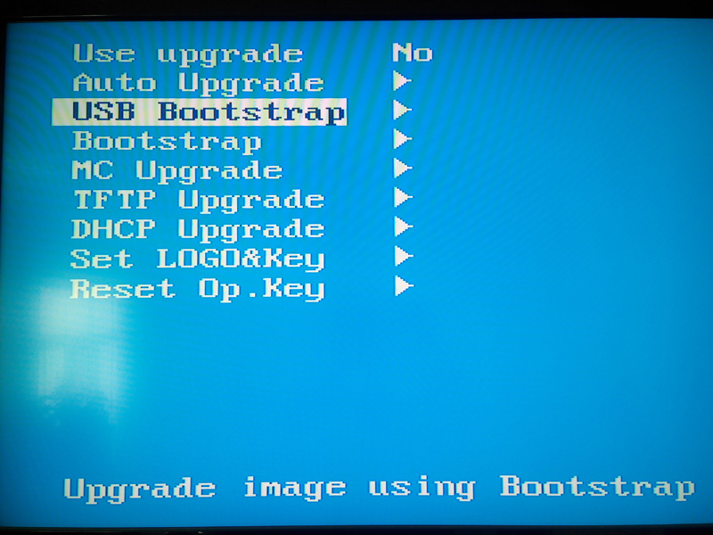 USB Bootstrap